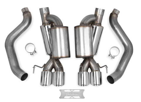 HOOKER BLACKHEART AXLE-BACK EXHAUST (W/ MUFFLERS)