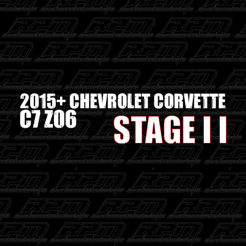 2015-2019 Corvette C7 Z06 Stage 2 Performance Package