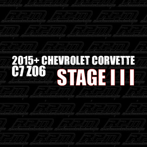 2015-2019 Corvette C7 Z06 Stage 3 Performance Package
