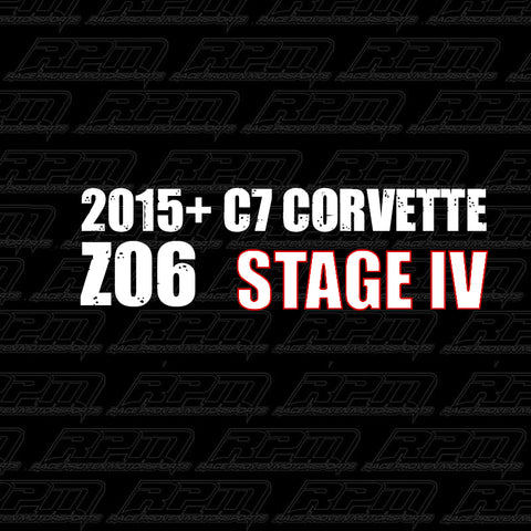 2015-2019 Corvette C7 Z06 Stage 4 Performance Package