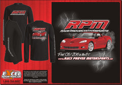 RPM Black Long Sleeve T-Shirt