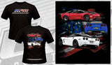 RPM 3 Corvette Black Short Sleeve T-Shirt