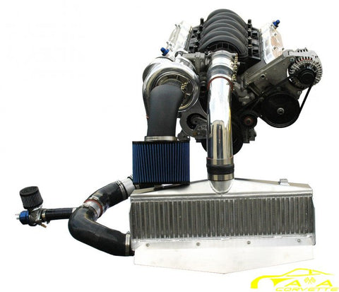 A&A - C6 (Non Z06) Supercharger Kit (Polished)