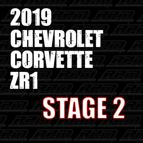2019 Corvette ZR1 Stage 2 Performance Package
