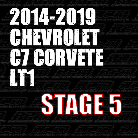 2014-2019 Corvette C7 LT1 Stage 5 Performance Package