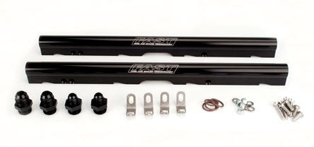 LS3/LS7/L76/L99 Billet Fuel Rail Kit for LSXR™ Intake (Black Anodized)