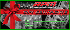 Race Proven Motorsports Gift Cards