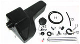 Rotofab - Washer Reservoir Relocation Kit II for 5th Gen Camaro