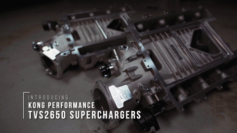 Kong Performance 2650 Supercharger for LSA & LS9