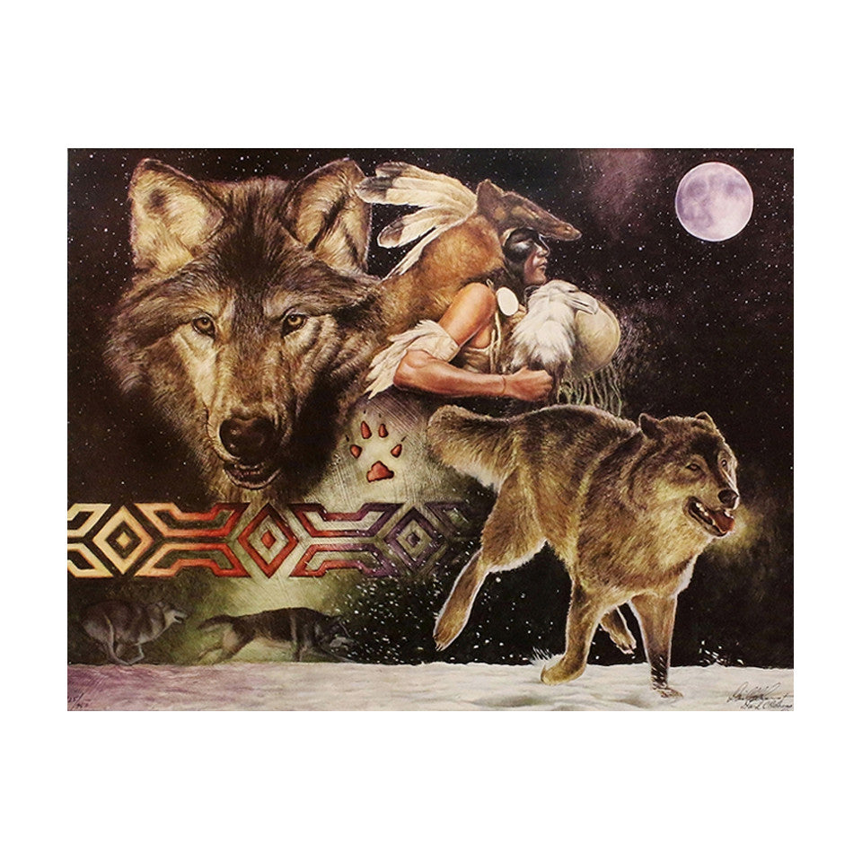 Arapaho Moon Limited Edition Lithograph