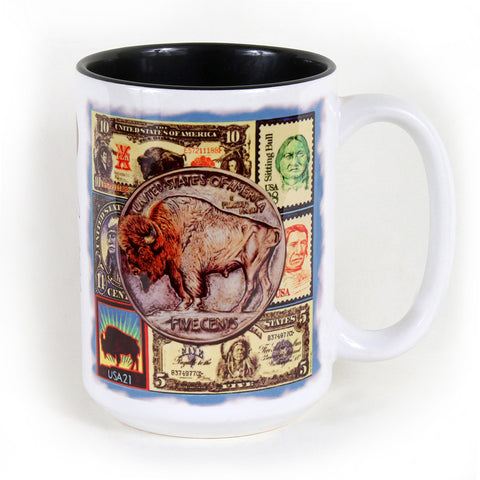 Bisontennial 15 oz. Ceramic Coffee Mug