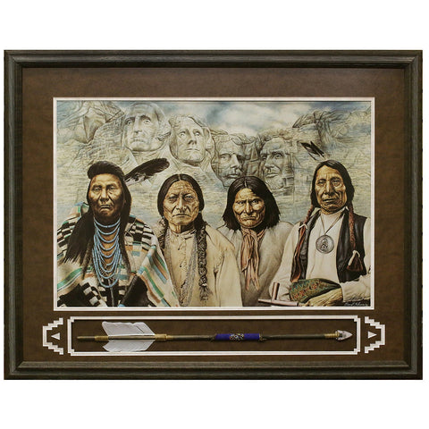 Original Founding Fathers Framed Limited Edition Lithograph