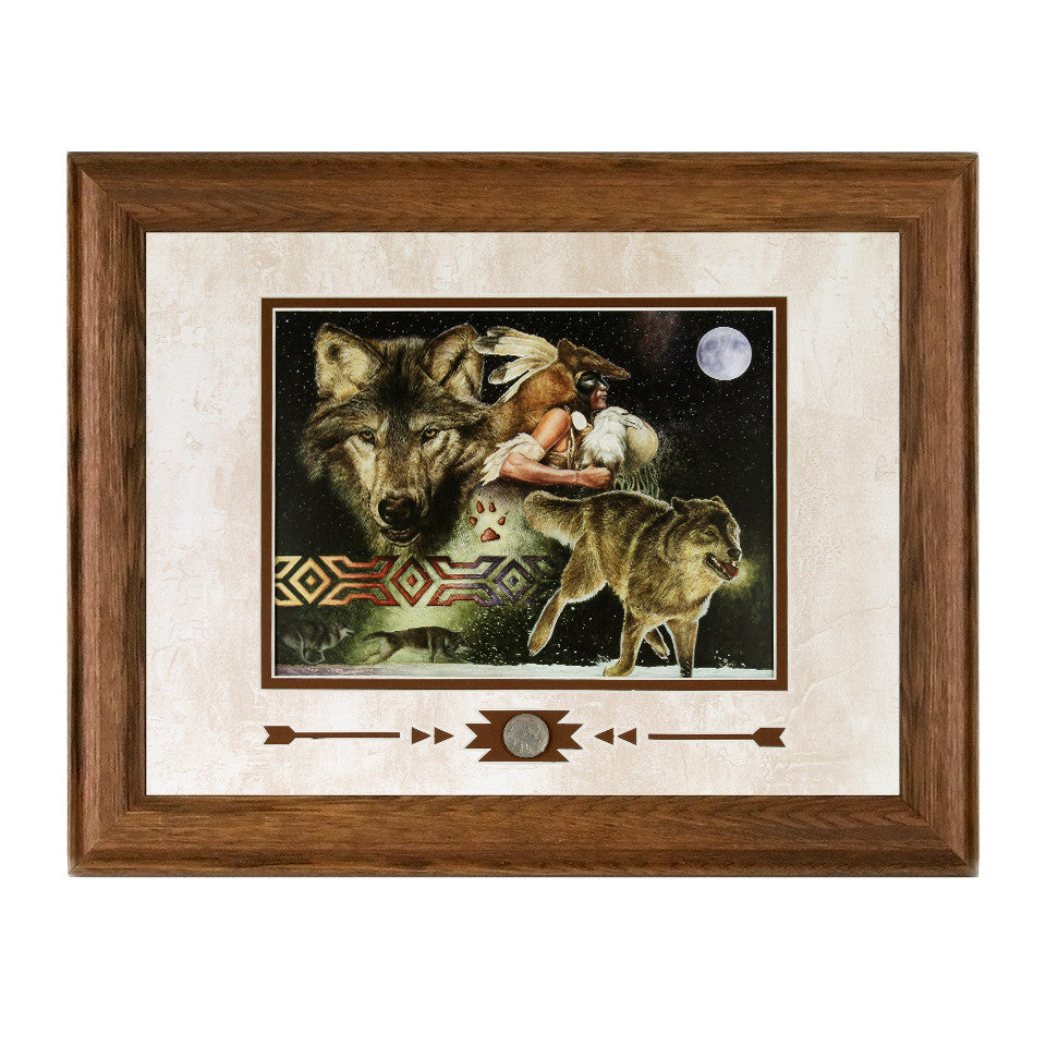 Framed Arapaho Moon Showcase Print