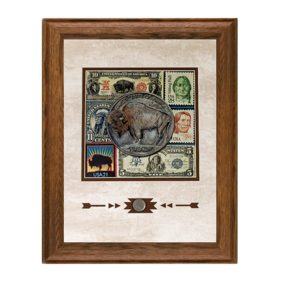 Framed Bisontennial Showcase Print