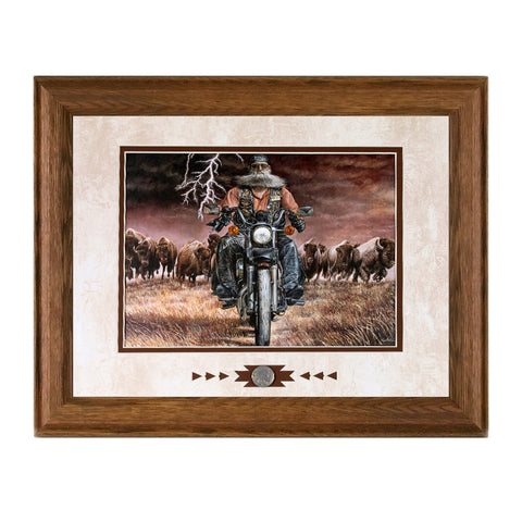 Framed Buffalo Thunder Showcase Print