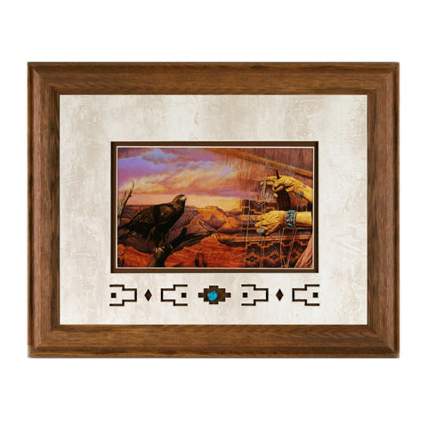Framed Canyon Weaver Showcase Print
