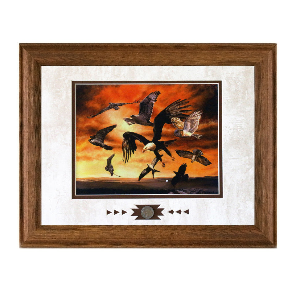 Framed First Flight Showcase Print