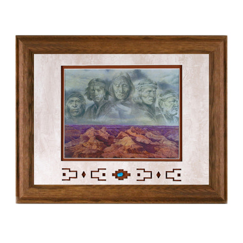 Framed Grandfather Earth Showcase Print
