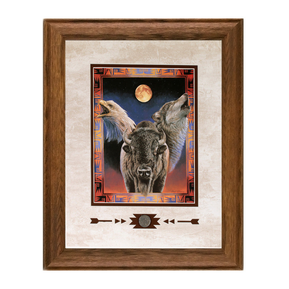 Framed Hallowed Harmony Framed Showcase Print