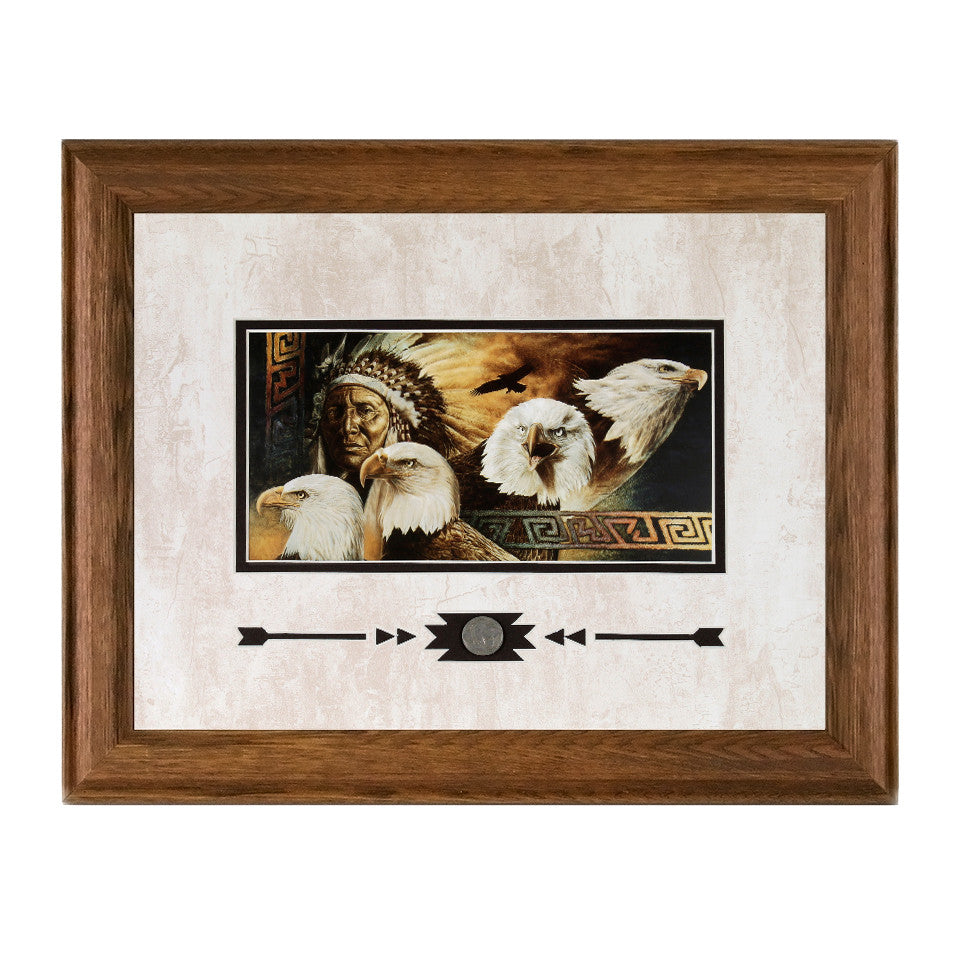 Framed Lakota Twilight Showcase Print