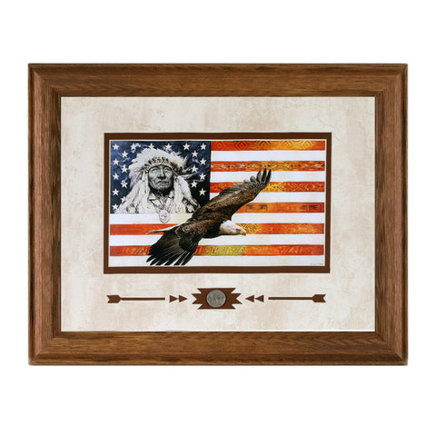 Framed Spirit of America Showcase Print