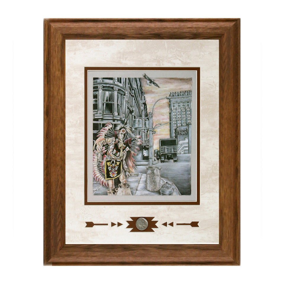 Framed Stranger In His Own Land Showcase Print