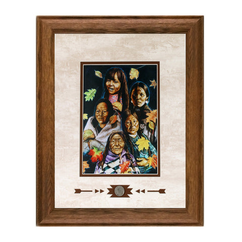 Framed Talking Leaves Showcase Print