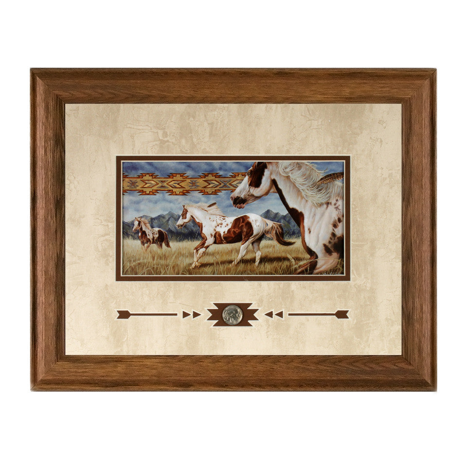 Framed Wind Weaver Showcase Print