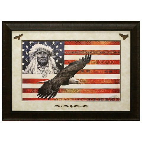 Framed and Matted Spirit of America Artist Proof