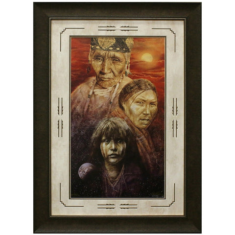 Night Song Matted and Framed Limited Edition Lithograph