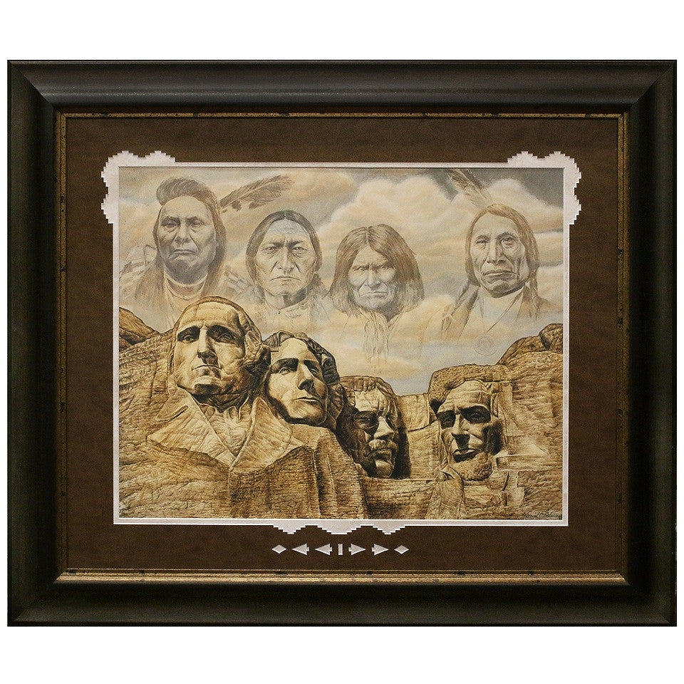 Framed and Matted Founding Fathers Artist Proof