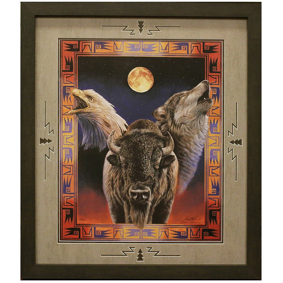 Framed and Matted Hallowed Harmony Artist Proof