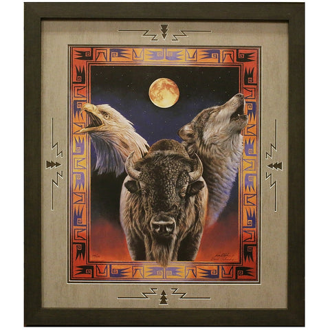 Hallowed Harmony Matted and Framed Limited Edition Lithograph