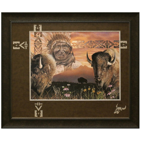 Keeper of the Plains Framed and Matted Limited Edition Lithograph
