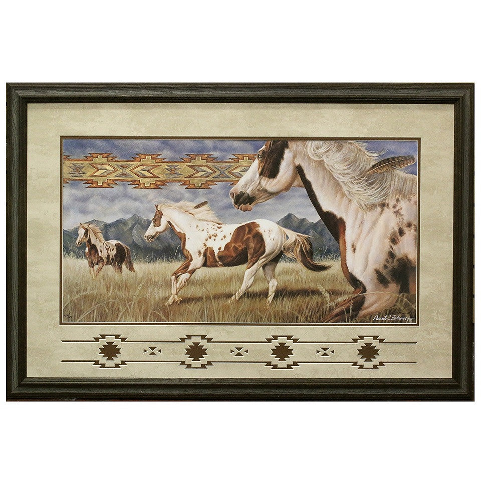 Framed and Matted Wind Weaver Artist Proof