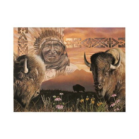 Keeper of the Plains  Limited Edition Lithograph