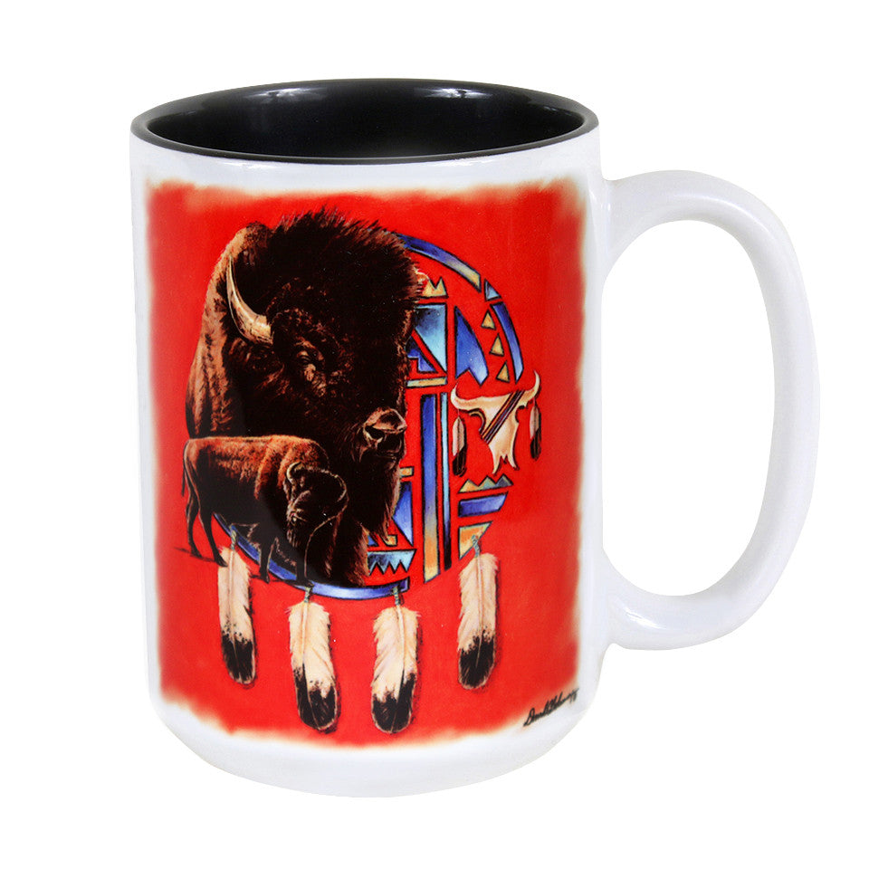 Buffalo Shield 15 oz. Ceramic Coffee Mug