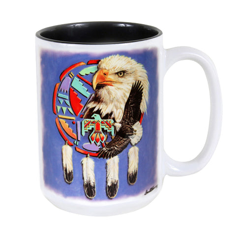 Eagle Shield 15 oz. Ceramic Coffee Mug