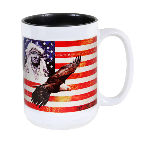 Spirit of America 15 oz. Ceramic Coffee Mug