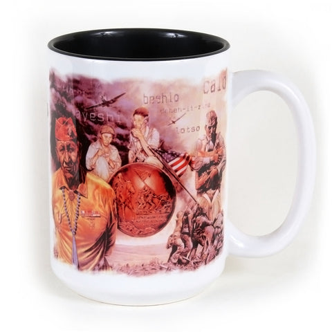 Visions of Valor 15 oz. Ceramic Coffee Mug