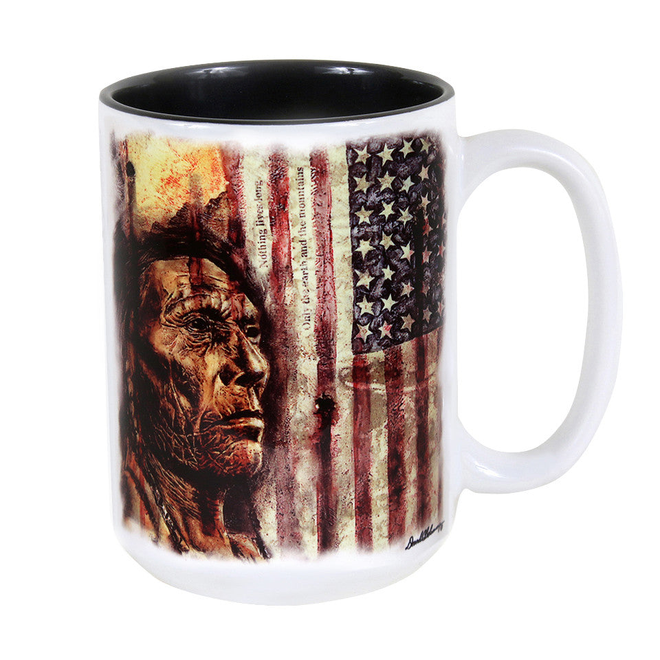 When Colors Bleed 15 oz. Ceramic Coffee Mug