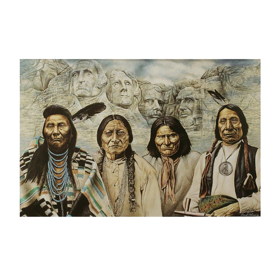 Original Founding Fathers Lithograph by David Behrens