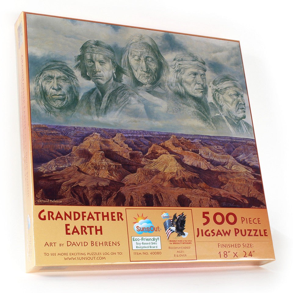 Grandfather Earth Puzzle 500 pieces