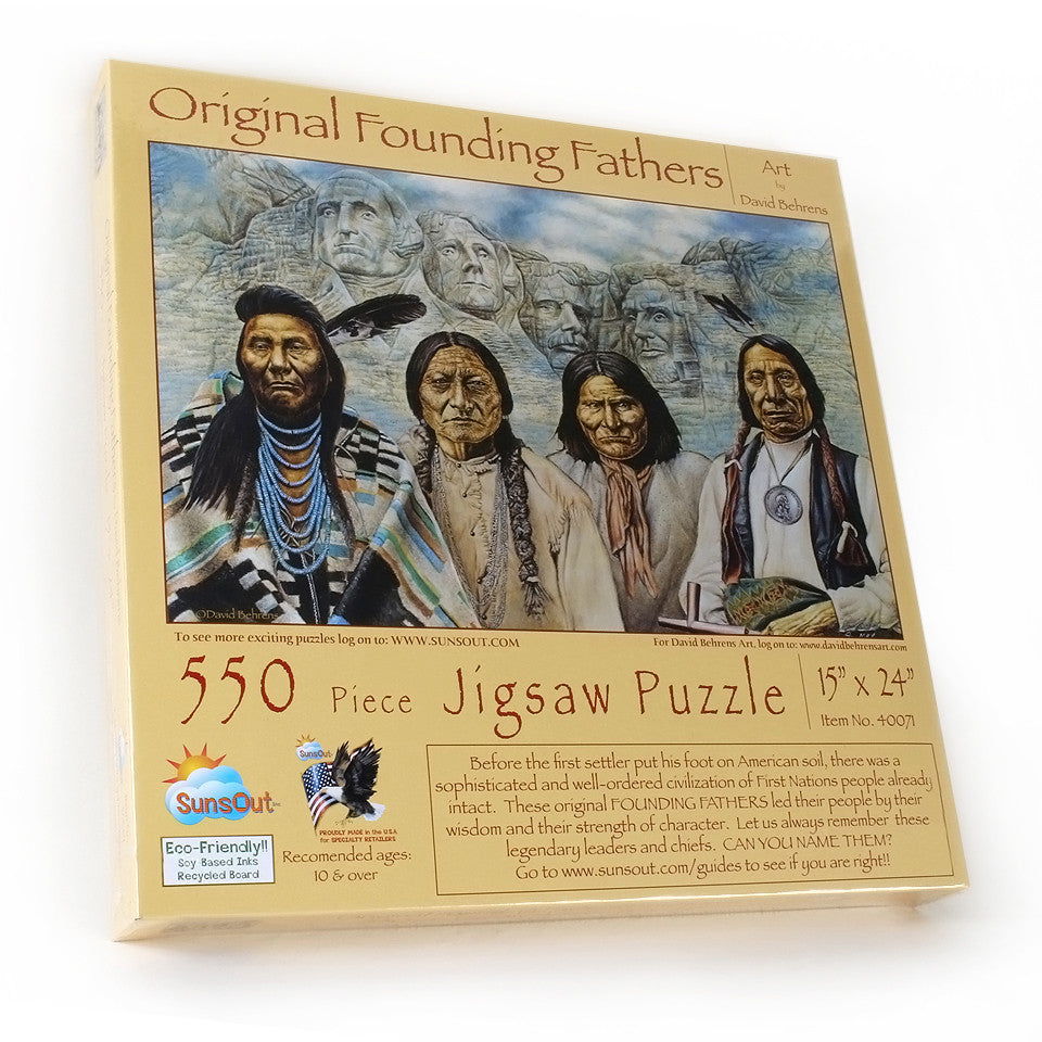 Original Founding Fathers Puzzle 550 Pieces
