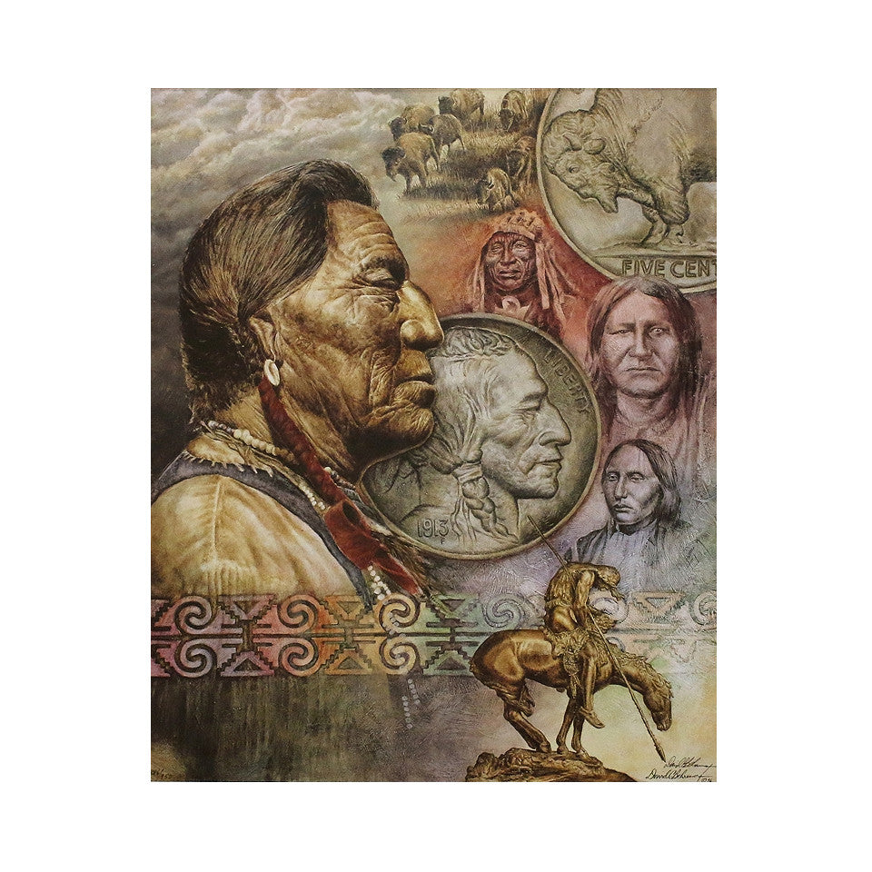 Five Cent Peace Limited Edition Lithograph