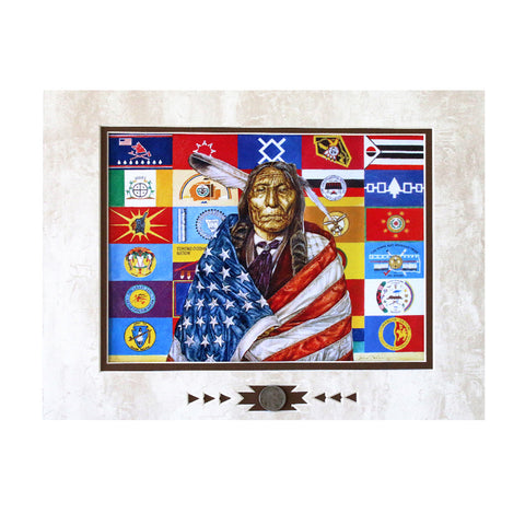 Flags of Our Fathers Showcase Print