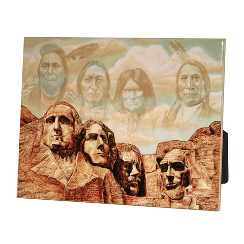 "Founding Fathers - 6""X8"" Ceramic Art Tile"