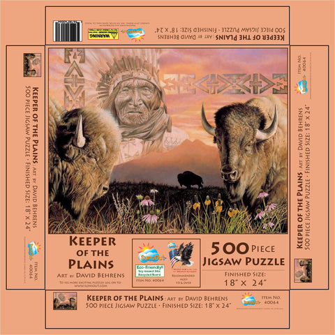 Keeper of the Plains Puzzle 500 pieces