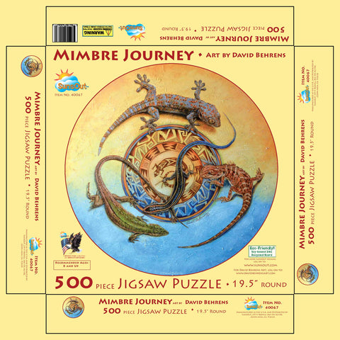 Mimbre Journeys Puzzle 500 pieces