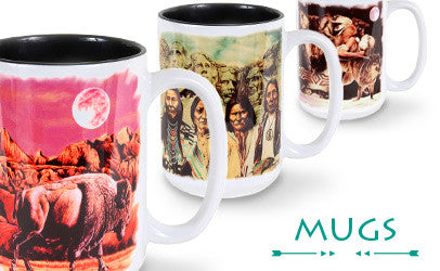 Shop our mugs, featuring some of David Behrens' most popular artworks